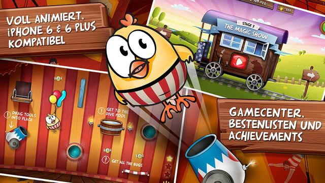 Drop the Chicken 2 iPhone iPad