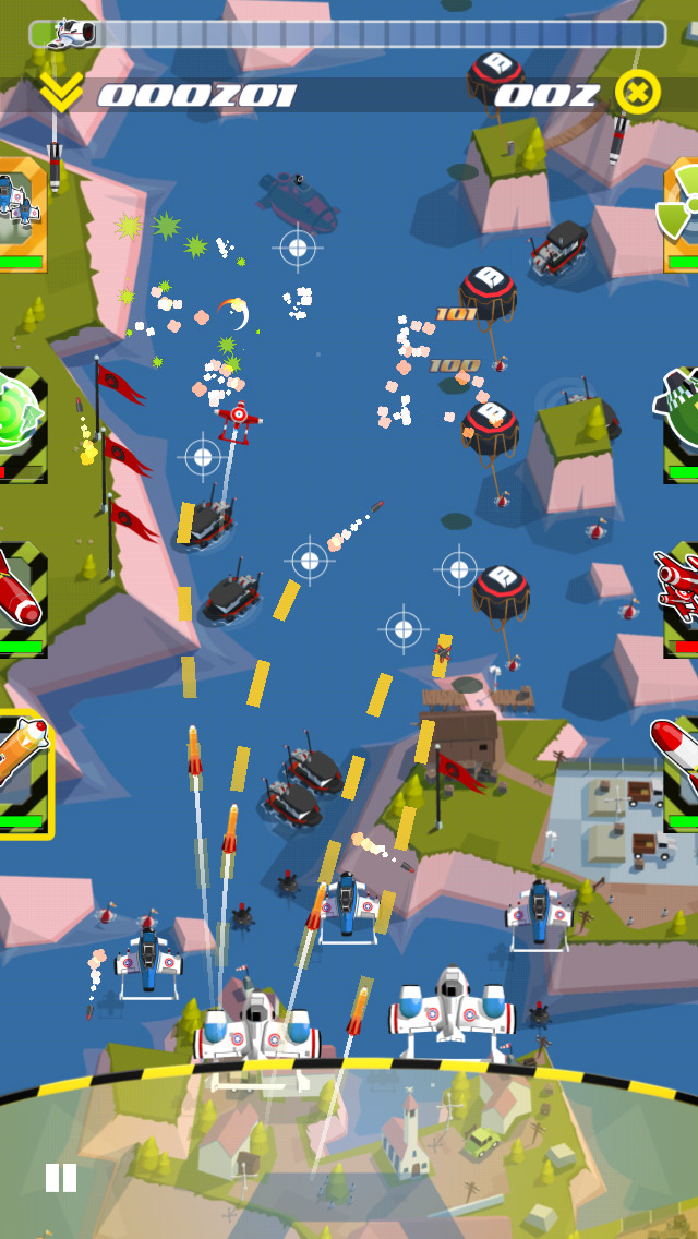 Sky Patrol iOS Screenshots