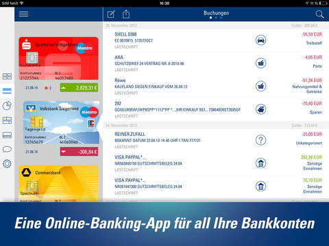 FinanzAssist iPhone iPad