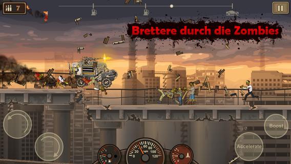 Screenshot 1 Earn to Die 2
