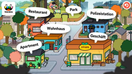 Toca Life: Town Screenshot
