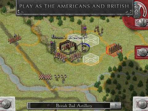 Rebels and Redcoats iOS