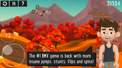 Pumped BMX 2 iPhone iPad