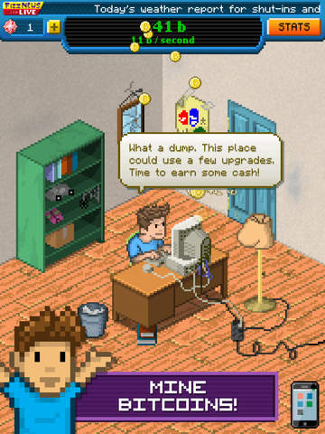Bitcoin Billionaire iOS Screenshots