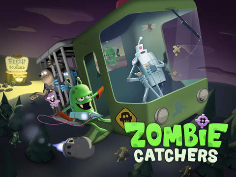 Zombie Catchers iOS Screenshots
