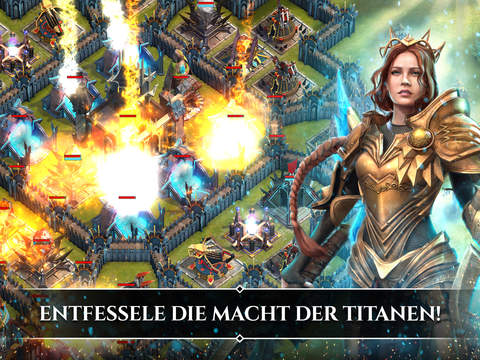 Rival Kingdoms: Schlacht der Titanen iOS Screenshots
