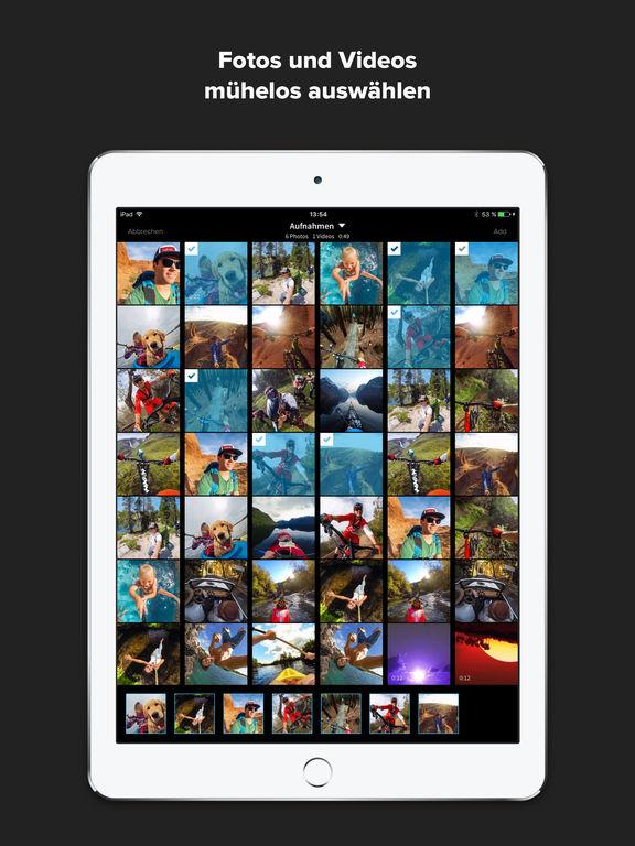 Splice – Video- und Diashow-Editor – Videos & Fotos schneiden – Durch GoPro Screenshot