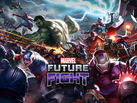 MARVEL Future Fight iOS Screenshots