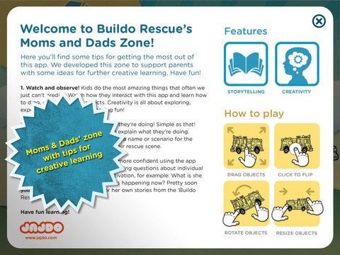 Buildo Rescue Sticker Book Screenshot