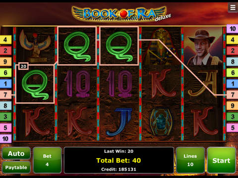 book of ra slot ipad