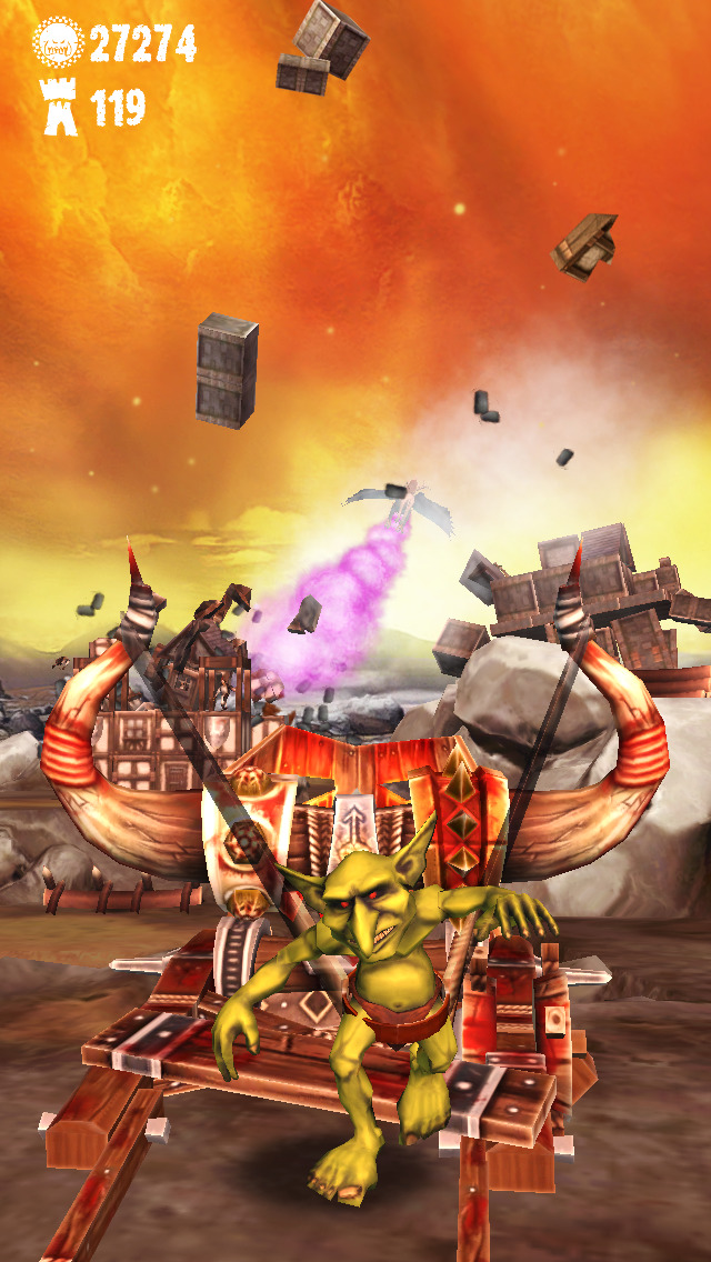 Warhammer: Snotling Fling iOS Screenshots