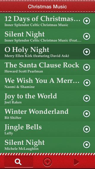 Christmas Music ~ 10,000 FREE Christmas Songs! Screenshot
