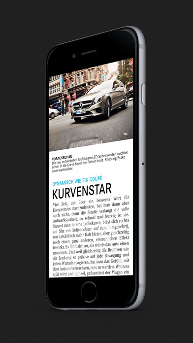 Mercedes benz magazin im app store for Mercedes benz app for iphone