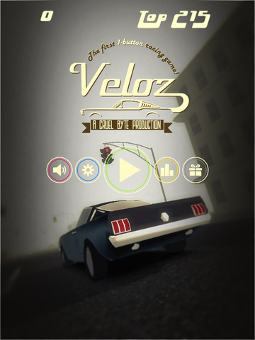 Veloz iOS Screenshots