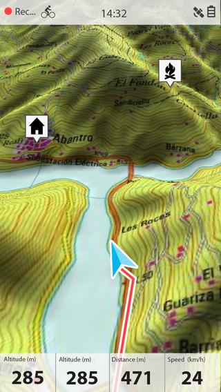 GPS pour VTT Screen568x568