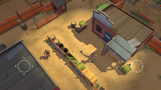 Space Marshals iOS Screenshots
