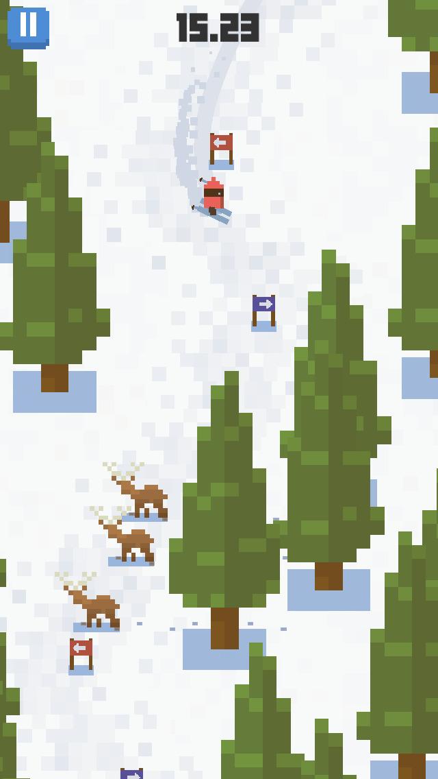 Screenshot 2 Skiing Yeti Mountain