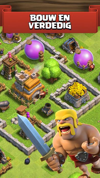 Clash of Clans iPhone app afbeelding 1