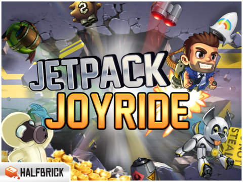 Jetpack Joyride iOS Screenshots
