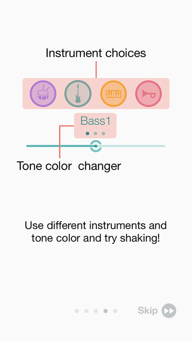 Cue - Shake Music Sequencer Screenshot