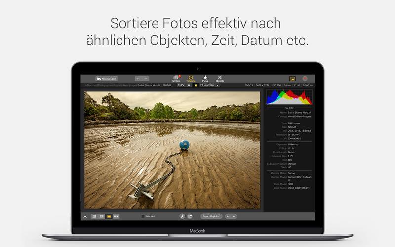 Snapselect: Toller Fotoduplikatfinder und - Säuberer. Screenshot