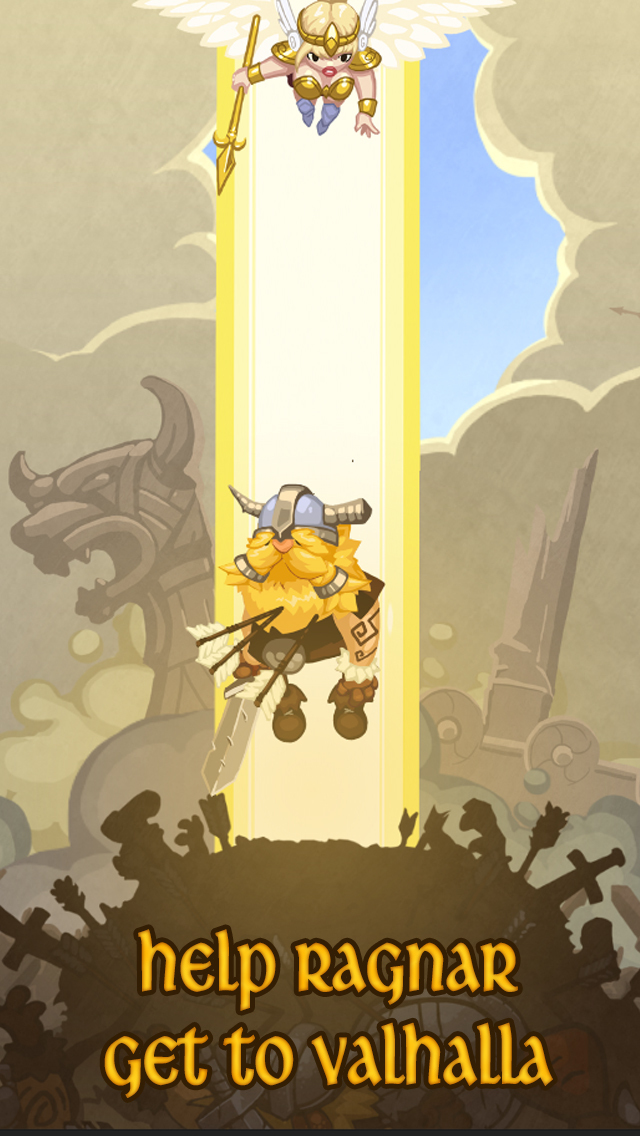 Viking's Journey : The Road to Valhalla iOS Screenshots