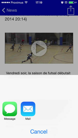 Capture d'écran iPhone 4