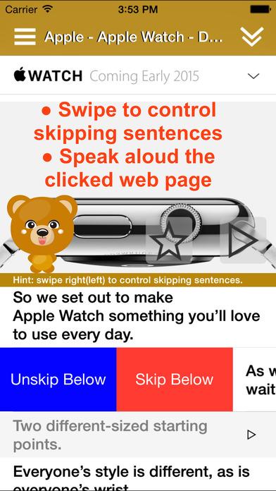 ReadToMe (Text/Web/Doc-to-Speech) Screenshot