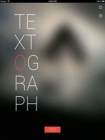 Textograph Pro+ iPad