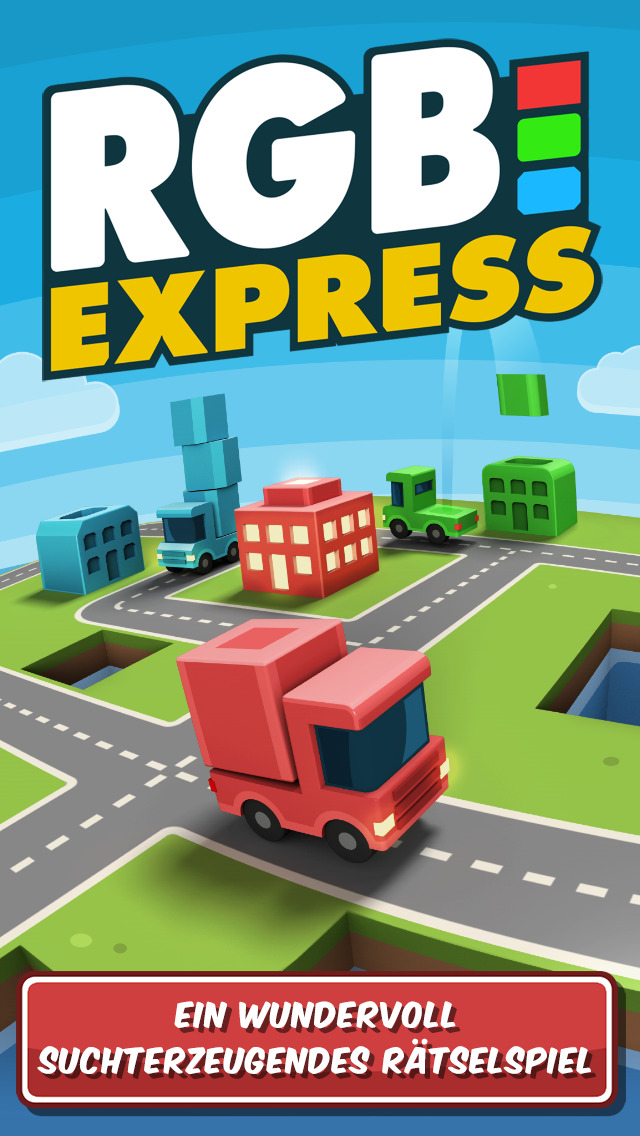 RGB Express - Das Mini-Lastwagenpuzzle iOS Screenshots