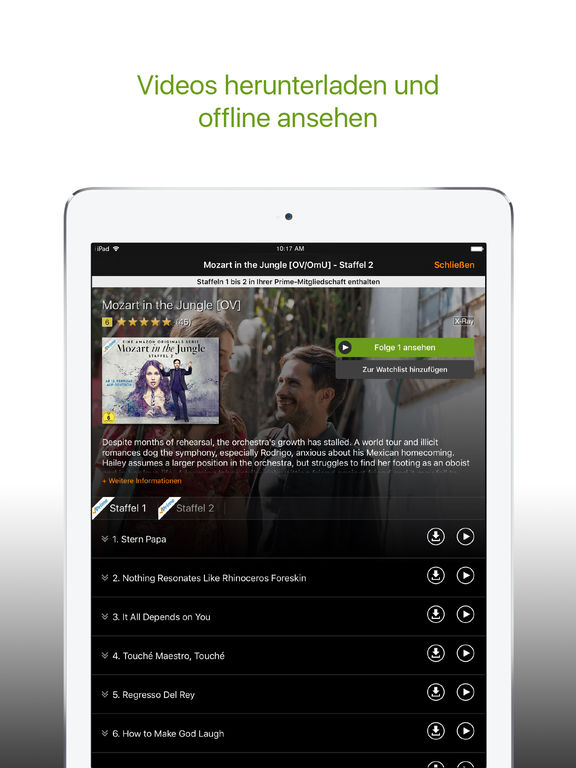 Amazon Video / Deutschland Screenshot