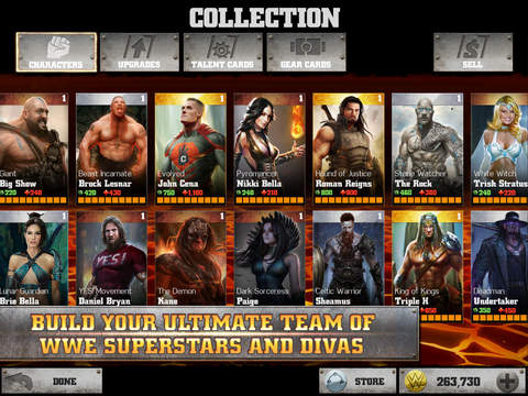 WWE Immortals iOS