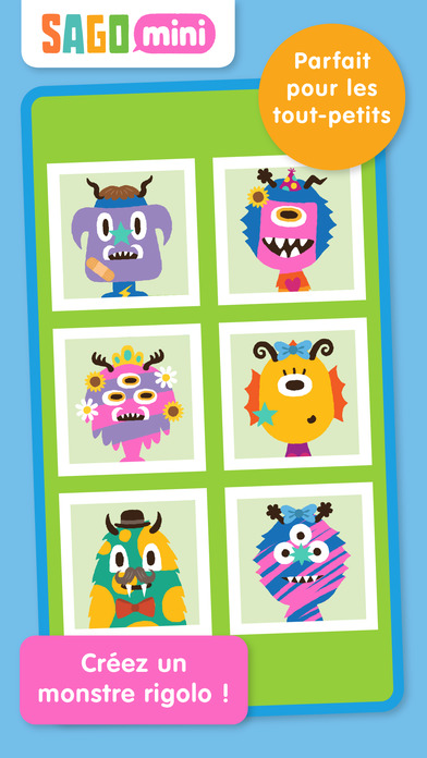 Screenshot Sago Mini Monsters
