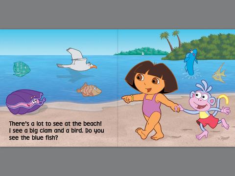 Dora the explorer beaches livedash