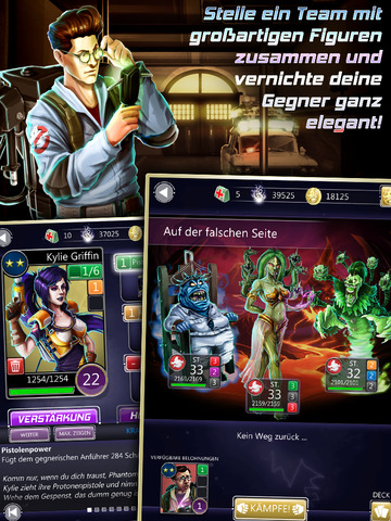 Ghostbusters Puzzle Fighter iPad