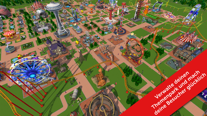 RollerCoaster Tycoon® Touch™ iOS Screenshots