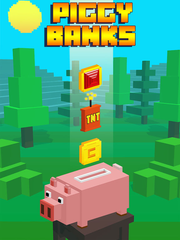 Piggy Banks! iOS Screenshots