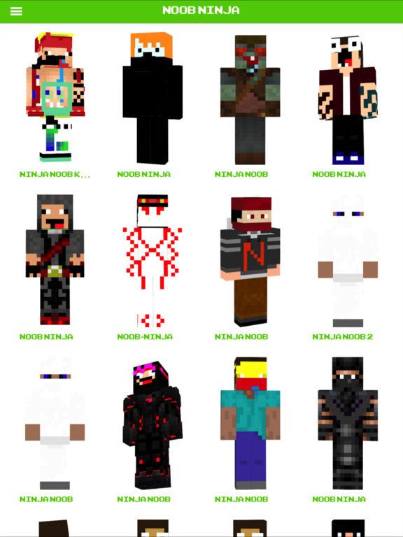 Noob Skin For Minecraft PE By Van Manh Nguyen - Descargar skins para minecraft pe noob