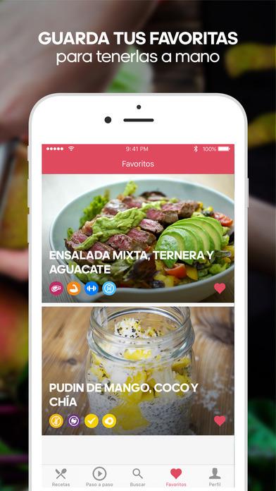 Runtasty: recetas fáciles de cocina y comida sana Screenshot