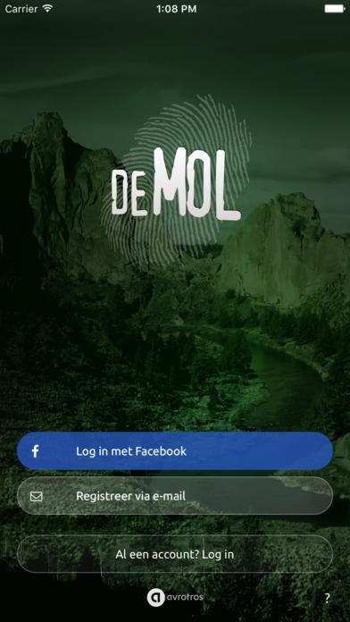AVROTROS Wie is de Mol? iPhone app afbeelding 1