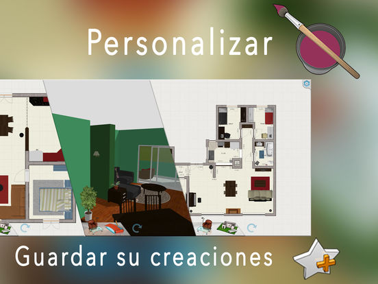Keyplan 3d plan decoraci n dise o de interiores en el - App diseno de interiores ...