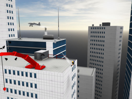 Screenshot 1 Stickman Base Jumper 2