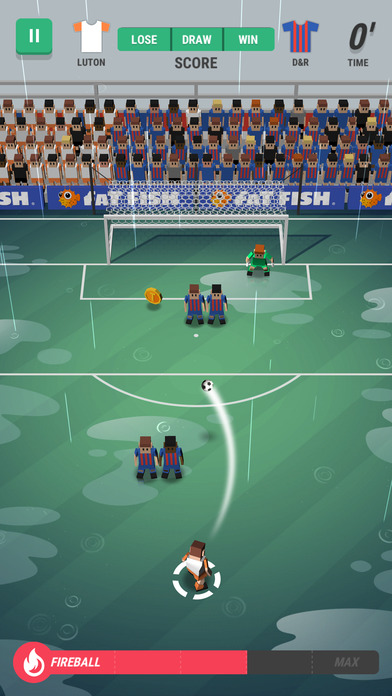 Screenshot 4 Tiny Striker: World Football