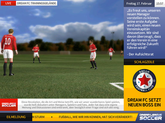 Screenshot 3 Dream League Soccer 2017