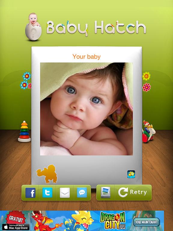 futur visage de votre b b pr nom grossesse dans l app store. Black Bedroom Furniture Sets. Home Design Ideas