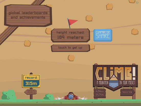Screenshot 5 Climb! A Mountain in Your Pocket