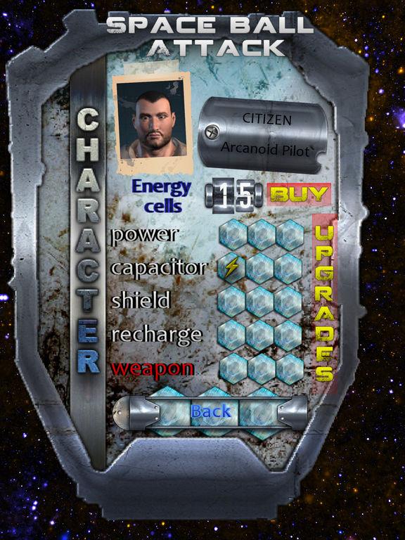 Space Ball Attack Screenshots
