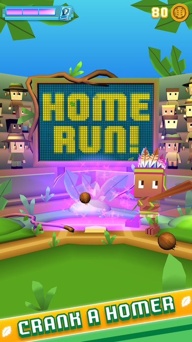 Screenshot 3 Blocky Baseball - Endless Baseball