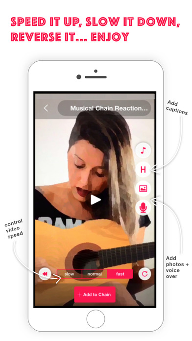 Chain - Create Video Threads with Friends Screenshot