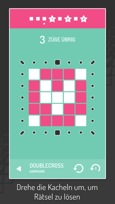 Invert - Tile Flipping Puzzles iOS Screenshots